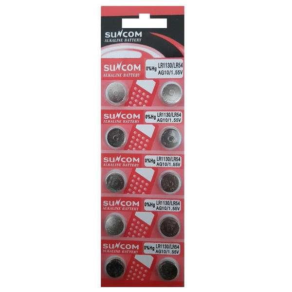 باتری سکه ای سایز LR54