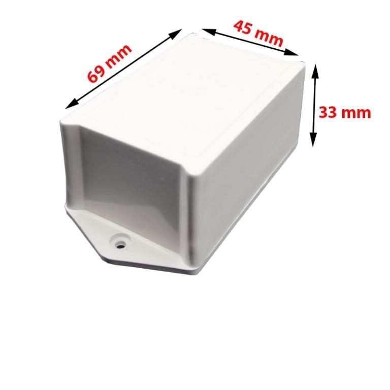 جعبه 4*6 پیچی / گوشواره ای مشکی