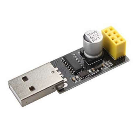 ماژول راه انداز وای فای ESP8266 با پورت USB و درایور CH340G