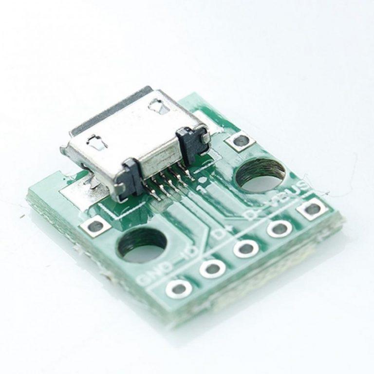 ماژول مبدل Micro Usb to DIP