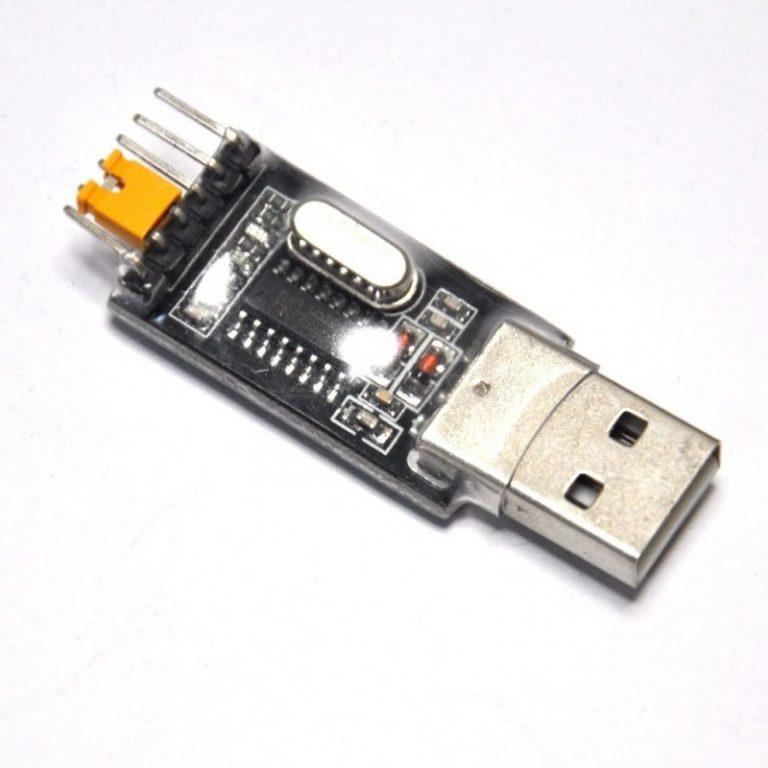 ماژول مبدل USB به سریال با تراشه USB to Serial CH340