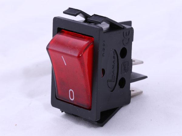 کلید راکر پهن چراغدار استاندارد