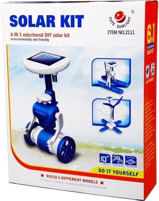 کیت روبات خورشیدی 6 کاره