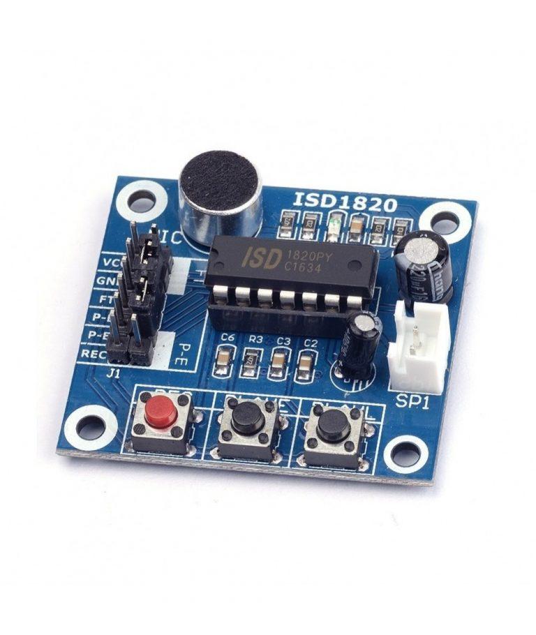 ماژول ضبط صدا ISD1820