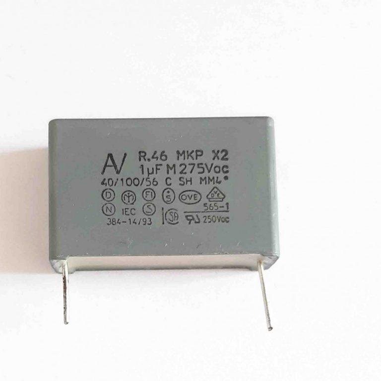 خازن 1 میکرو فاراد 275 ولت MKT