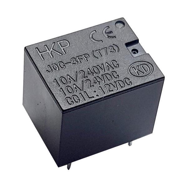 رله 12 ولت پایه میلون 10 آمپر HKP