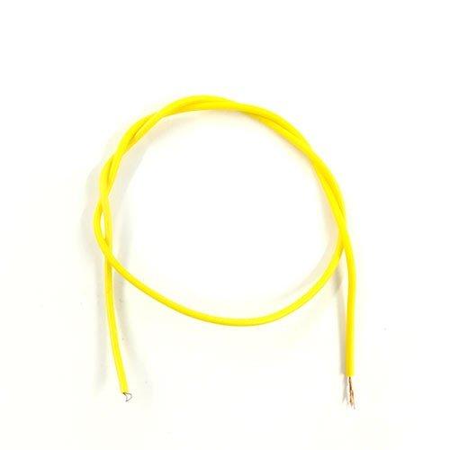 سیم رشته ای نازک-یک متر- زرد